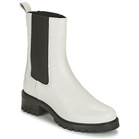 Schuhe Damen Boots Betty London OLANDI Weiss