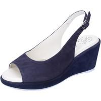 Schuhe Damen Sandalen / Sandaletten Adriana Del Nista BJ06 Blau