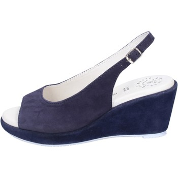 Schuhe Damen Sandalen / Sandaletten Adriana Del Nista Sandalen Wildleder Blau