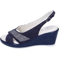 Schuhe Damen Sandalen / Sandaletten Adriana Del Nista BJ08 Blau