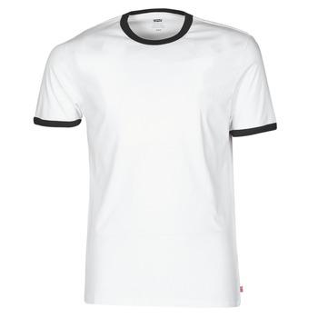 Kleidung Herren T-Shirts Levi's SS RINGER TEE Weiss