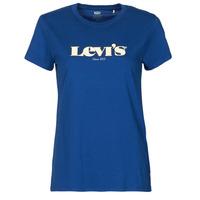 Kleidung Damen T-Shirts Levi's THE PERFECT TEE Blau