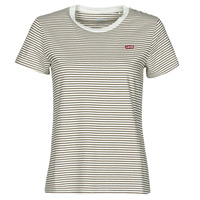 Kleidung Damen T-Shirts Levi's PERFECT TEE Beige