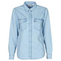 Kleidung Damen Hemden Levi's ESSENTIAL WESTERN Schwarz / silber