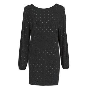 Kleidung Damen Kurze Kleider Guess SORAYA Dress Schwarz