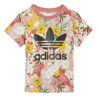 Kleidung Mädchen T-Shirts adidas Originals DREZZI Multicolor