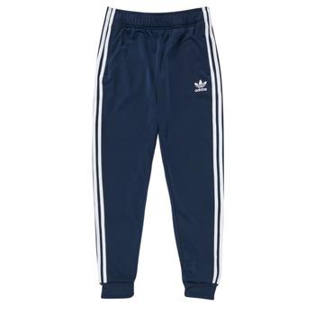 Kleidung Kinder Jogginghosen adidas Originals GN8454 Blau