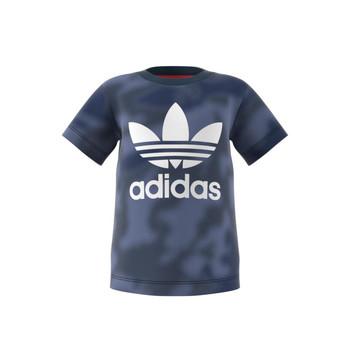 Kleidung Jungen T-Shirts adidas Originals GN4116 Blau