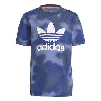 Kleidung Jungen T-Shirts adidas Originals GN4119 Blau