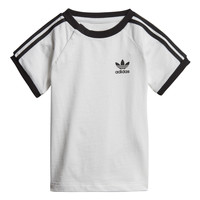 Kleidung Kinder T-Shirts adidas Originals DV2824 Weiss