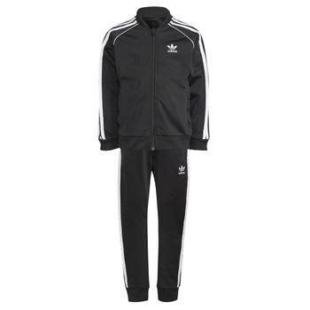 Kleidung Kinder Jogginganzüge adidas Originals GN4362 Schwarz