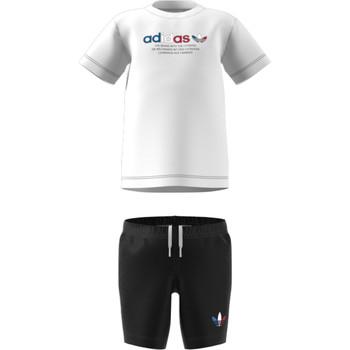 Kleidung Kinder Kleider & Outfits adidas Originals GN7413 Weiss