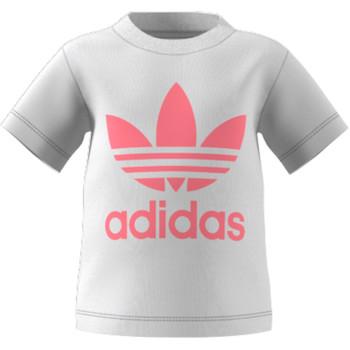 Kleidung Kinder T-Shirts adidas Originals GN8175 Weiss