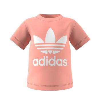 Kleidung Kinder T-Shirts adidas Originals GN8176 Weiss