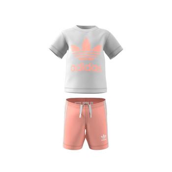 Kleidung Kinder Kleider & Outfits adidas Originals GN8192 Weiss