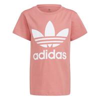 Kleidung Kinder T-Shirts adidas Originals HOULILA Weiss