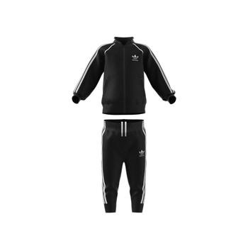 Kleidung Kinder Jogginganzüge adidas Originals FREDDY Schwarz