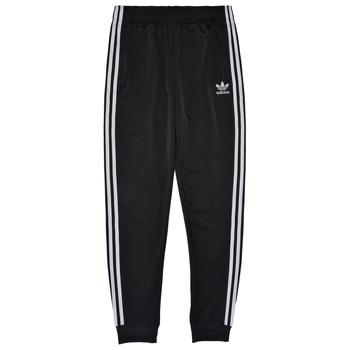 Kleidung Kinder Jogginghosen adidas Originals GIANNY Schwarz