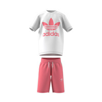 Kleidung Kinder Kleider & Outfits adidas Originals GP0195 Weiss