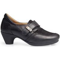 Schuhe Damen Slipper Calzamedi HEELED SHOES  0711 BLACK