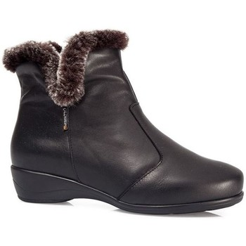 Schuhe Damen Schneestiefel Calzamedi Knöchelstiefel  POLAR W 0640 SCHWARZ