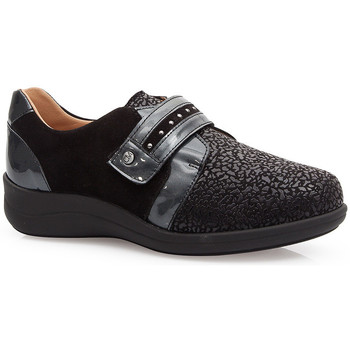 Schuhe Damen Derby-Schuhe & Richelieu Calzamedi SCHUHE  ELASTICO SPECIAL JUANETES 0748 BLACK