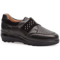 Schuhe Damen Derby-Schuhe & Richelieu Calzamedi ELASTISCHE SCHUHE  0745 BLACK