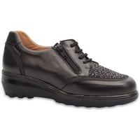 Schuhe Damen Derby-Schuhe & Richelieu Calzamedi SCHUHE  DIABETIC 0751 BLACK