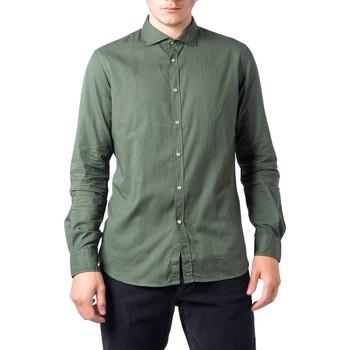 Kleidung Herren Langärmelige Hemden Hydra Clothing BU21W04CA Verde