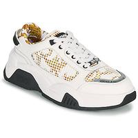 Schuhe Herren Sneaker Low Versace Jeans Couture HATINA Weiss / Gold