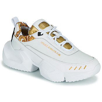 Schuhe Herren Sneaker Low Versace Jeans Couture FILONE Weiss / Gold