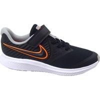 Schuhe Kinder Fitness / Training Nike Star Runner 2 Schwarz