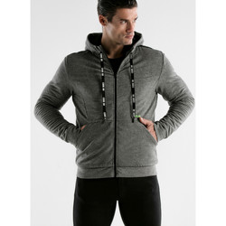 Kleidung Herren Trainingsjacken Code 22 Sportjacke mit Kapuze Core Code22 Hellgrau