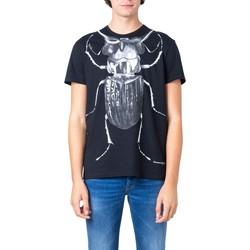 Kleidung Herren T-Shirts McQ Alexander McQueen 573593 Nero