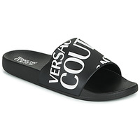 Schuhe Herren Pantoletten Versace Jeans Couture TENNIA Schwarz / Weiss