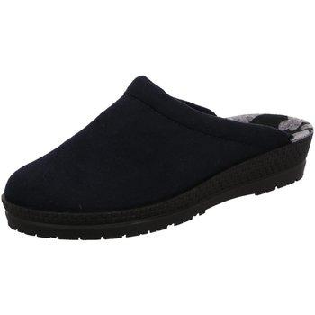 Schuhe Damen Hausschuhe Rohde 2291/50 blau