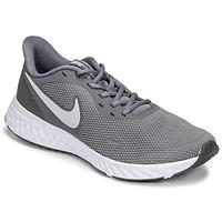 Schuhe Herren Laufschuhe Nike REVOLUTION 5 Grau