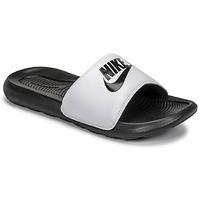 Schuhe Herren Pantoletten Nike VICTORI BENASSI Schwarz / Weiss