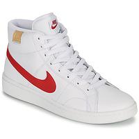 Schuhe Herren Sneaker Low Nike COURT ROYALE 2 MID Weiss / Rot