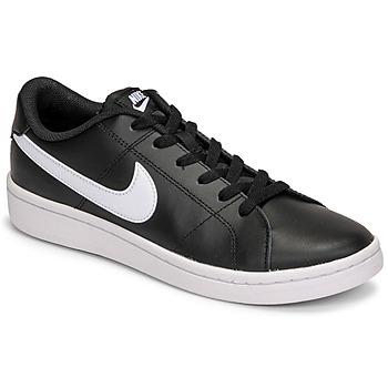 Schuhe Herren Sneaker Low Nike COURT ROYALE 2 LOW Schwarz / Weiss