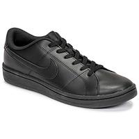 Schuhe Herren Sneaker Low Nike COURT ROYALE 2 LOW Schwarz