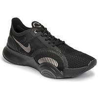Schuhe Herren Multisportschuhe Nike SUPERREP GO Schwarz