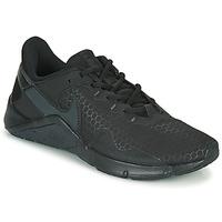 Schuhe Herren Multisportschuhe Nike LEGEND ESSENTIAL 2 Schwarz / Grau