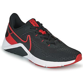 Schuhe Herren Multisportschuhe Nike LEGEND ESSENTIAL 2 Schwarz / Rot