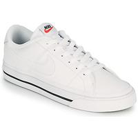 Schuhe Damen Sneaker Low Nike COURT LEGACY Weiss