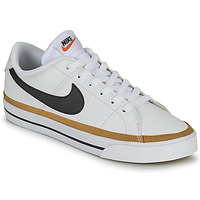 Schuhe Damen Sneaker Low Nike COURT LEGACY Weiss / Blau