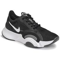 Schuhe Damen Multisportschuhe Nike SUPERREP GO Schwarz / Weiss