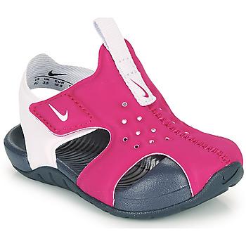 Schuhe Mädchen Pantoletten Nike SUNRAY PROTECT 2 TD Violett