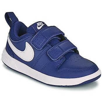 Schuhe Jungen Sneaker Low Nike PICO 5 PS Blau / Weiss