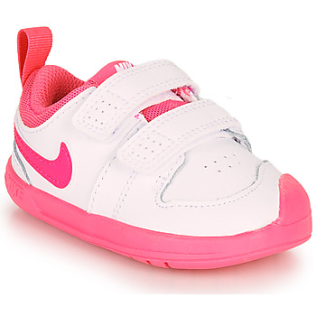 Schuhe Mädchen Sneaker Low Nike PICO 5 TD Weiss / Rose